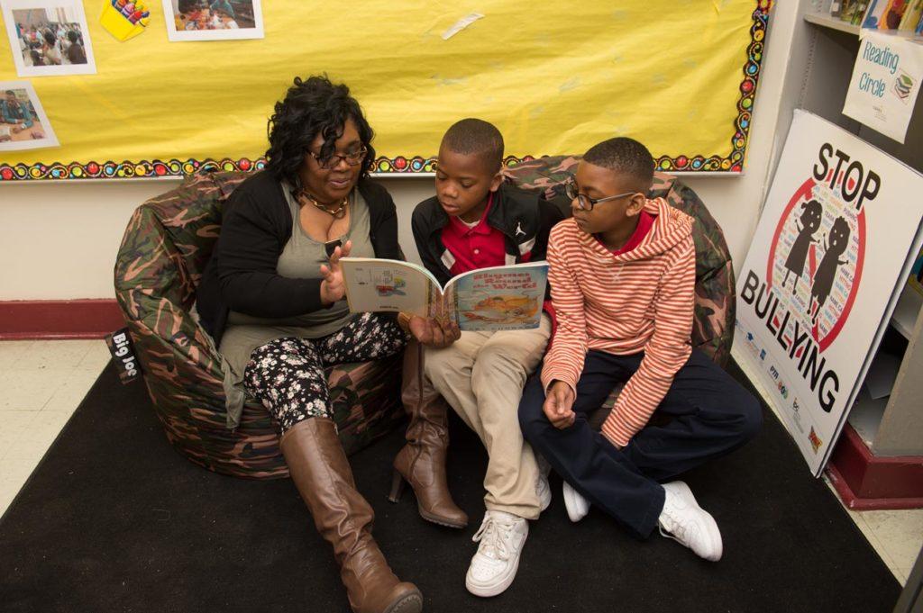 Reading photo elementary age