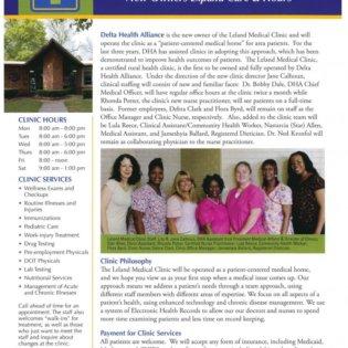 Leland Medical Clinic ad
