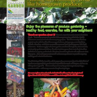 DHA garden flyer