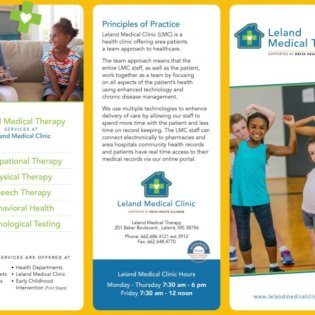 LMT therapy brochure